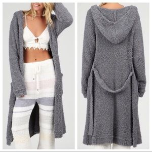 Grey Berber robe